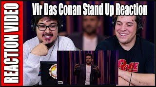 Vir Das Stand Up 2017 Reaction Video | Conan | Review | Discussion