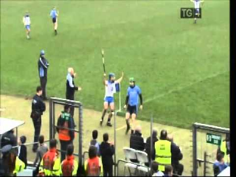 Conor McCormack sending off Waterford Dublin game