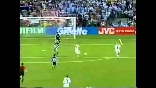 1998 World Cup: England/Argentina - Michael Owen Amazing Goal