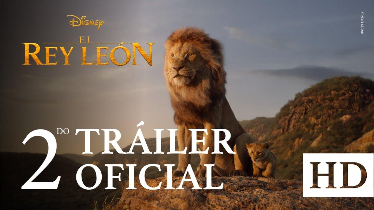 El Rey León De Disney último Tráiler Oficial Subtitulado Youtube