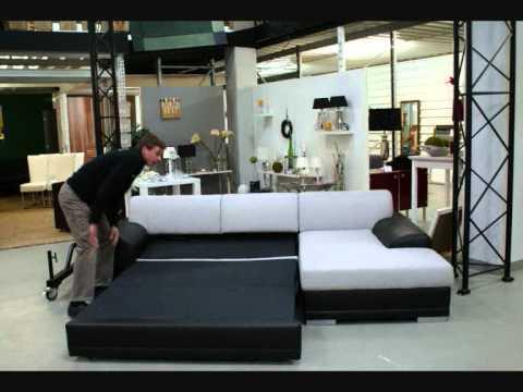 ecksofa relax im sofa depot youtube. Black Bedroom Furniture Sets. Home Design Ideas