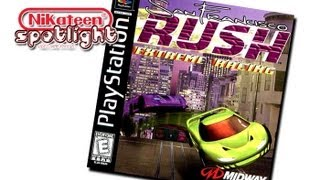 Spotlight Video Game Reviews - San Francisco Rush: Extreme Racing (Playstation)