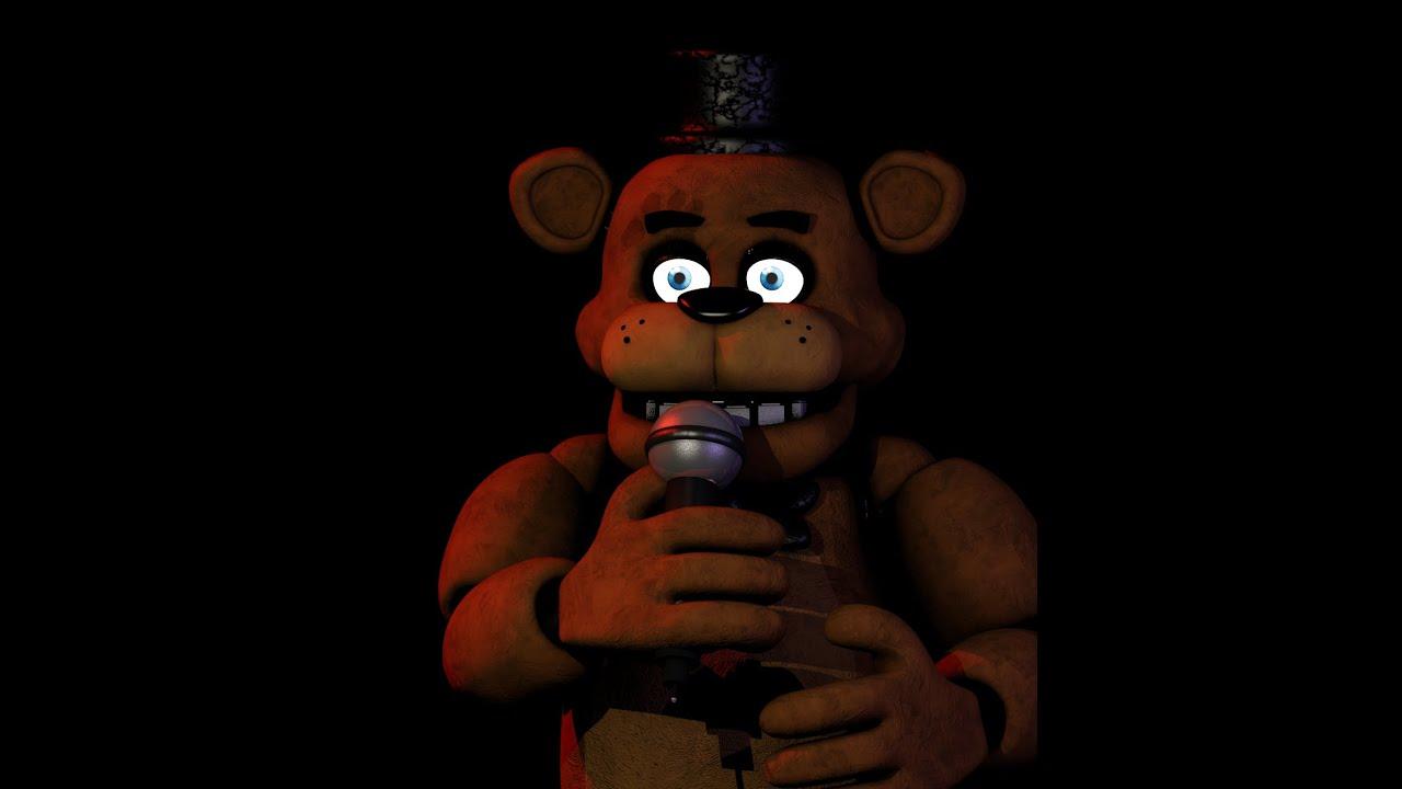 Five Nights At Freddy's 1 Freddy Model (Made in Blender)
