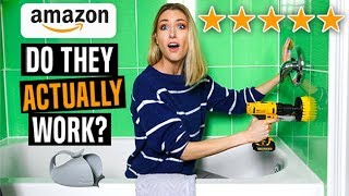 Testing 5 STAR RATED Cleaning/Organizing GADGETS from AMAZON... IS IT WORTH IT??