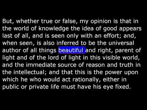 Plato - Allegory of the Cave - The Republic - Book VII
