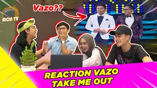 REACTION VAZO IKUTAN TAKE ME OUT!! ngakak