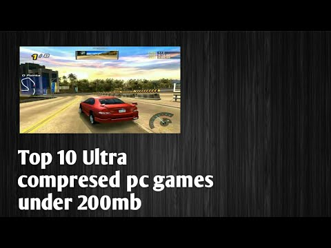Top 10 Ultra Compressed Pc Games Under 200mb Youtube