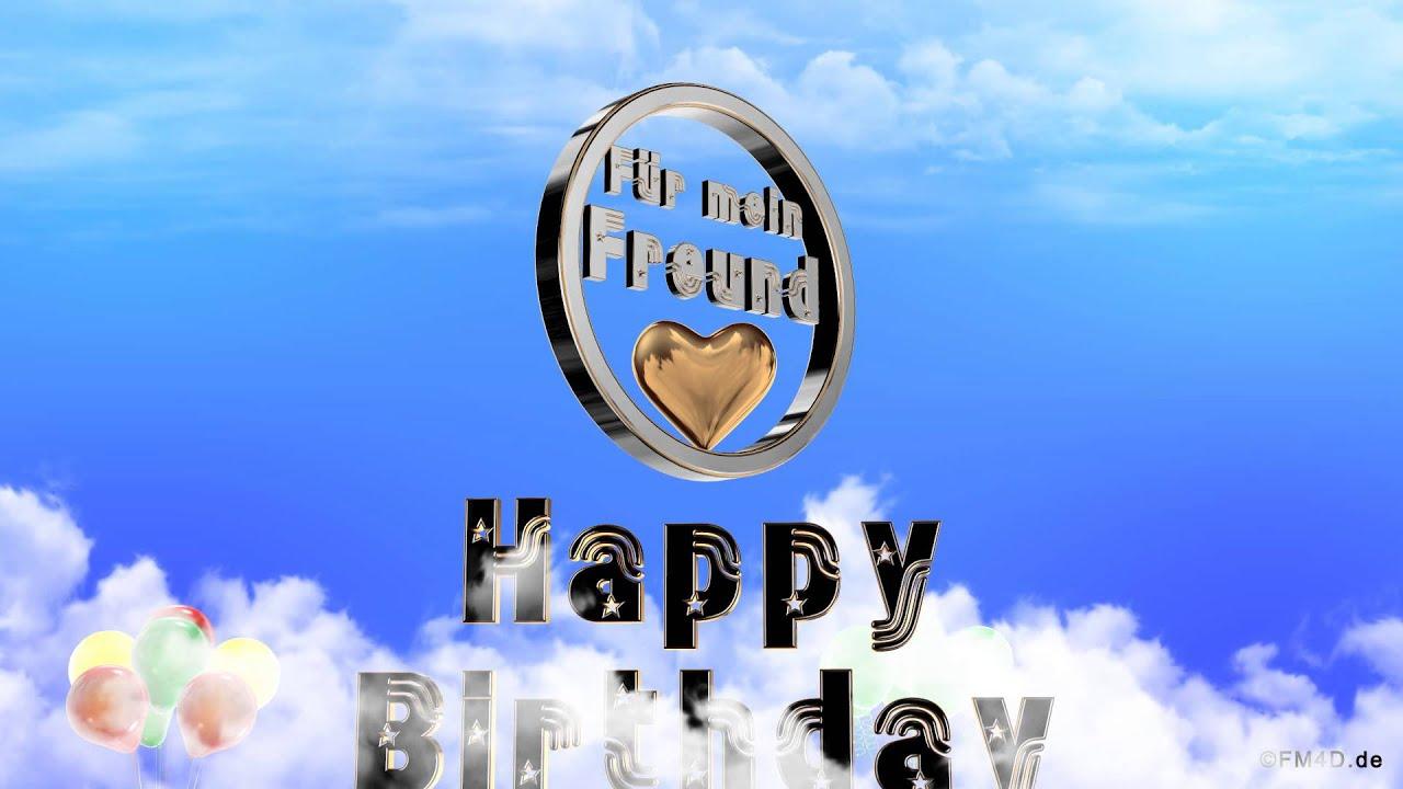 Geburtstagslied ☆♪ für mein Freund Happy Birthday to you