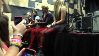 r5 minneapolis sound check acoustic here comes forever