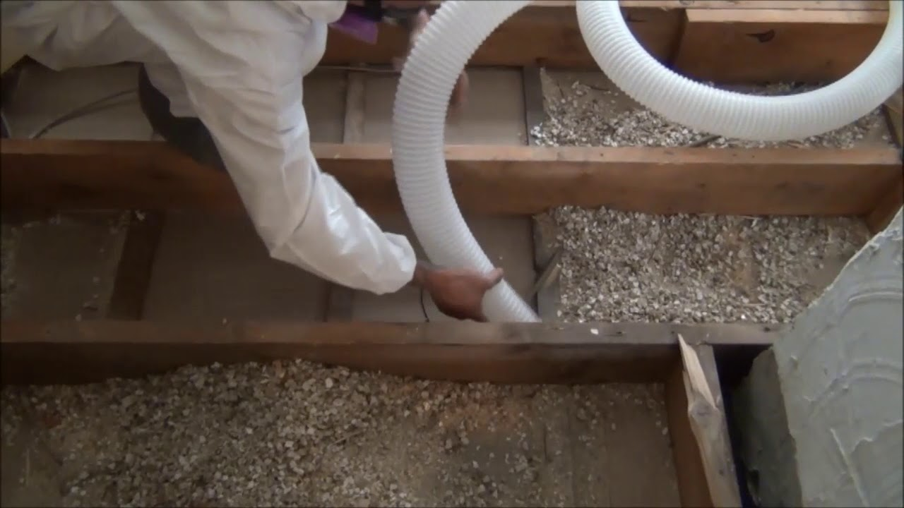 Attic Vac Vermiculite Removal System by Ruwac (In Action) | http://www.ruwac.com - YouTube