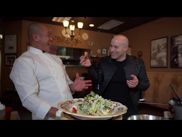 Love Food Caesars Salad & Lamb Chops with Chef Rudy & Seth Grabel - MAGICGRUB