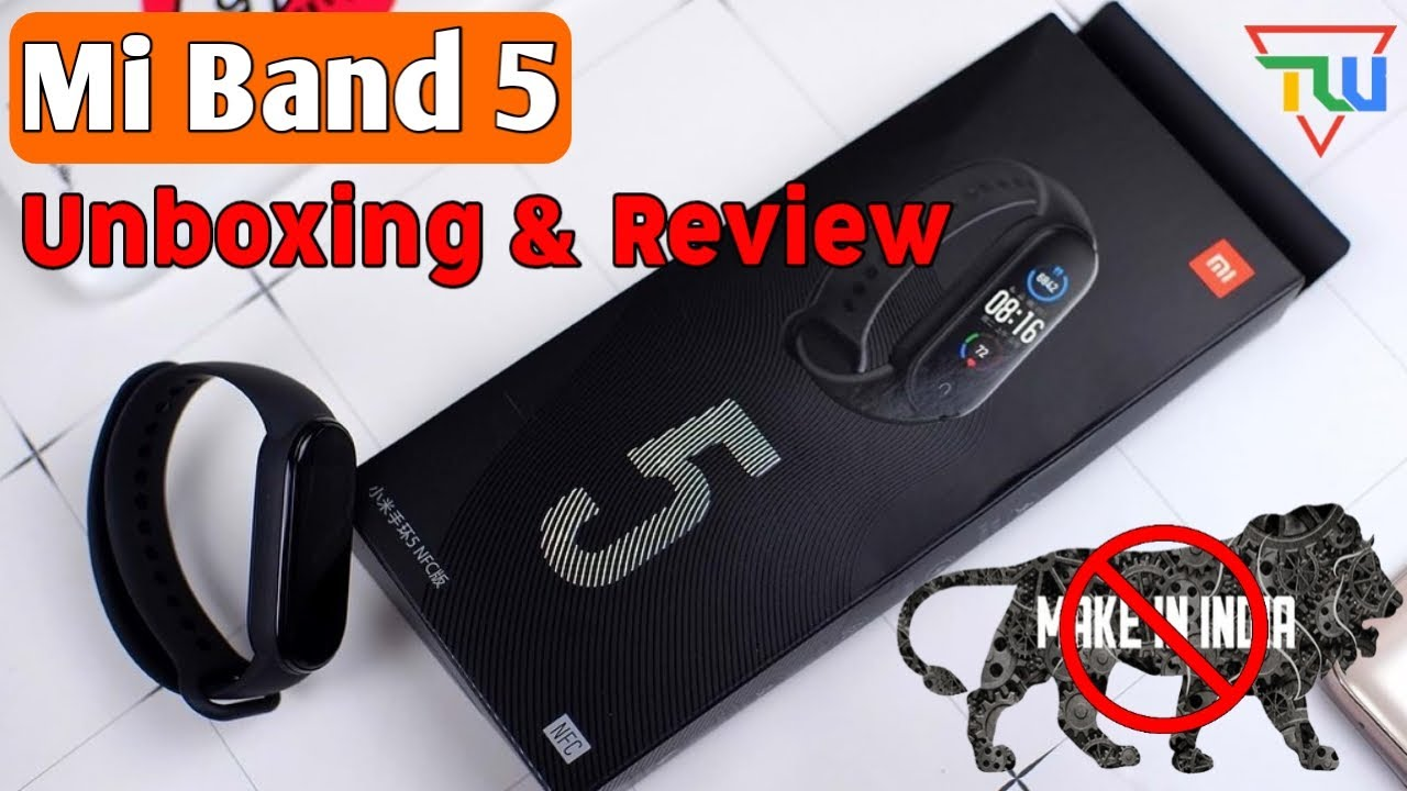 Xiaomi Mi Band 5 Unboxing & First Look | Mi Band 5 Price, Launch Date | Best Fitness Band Tracker?