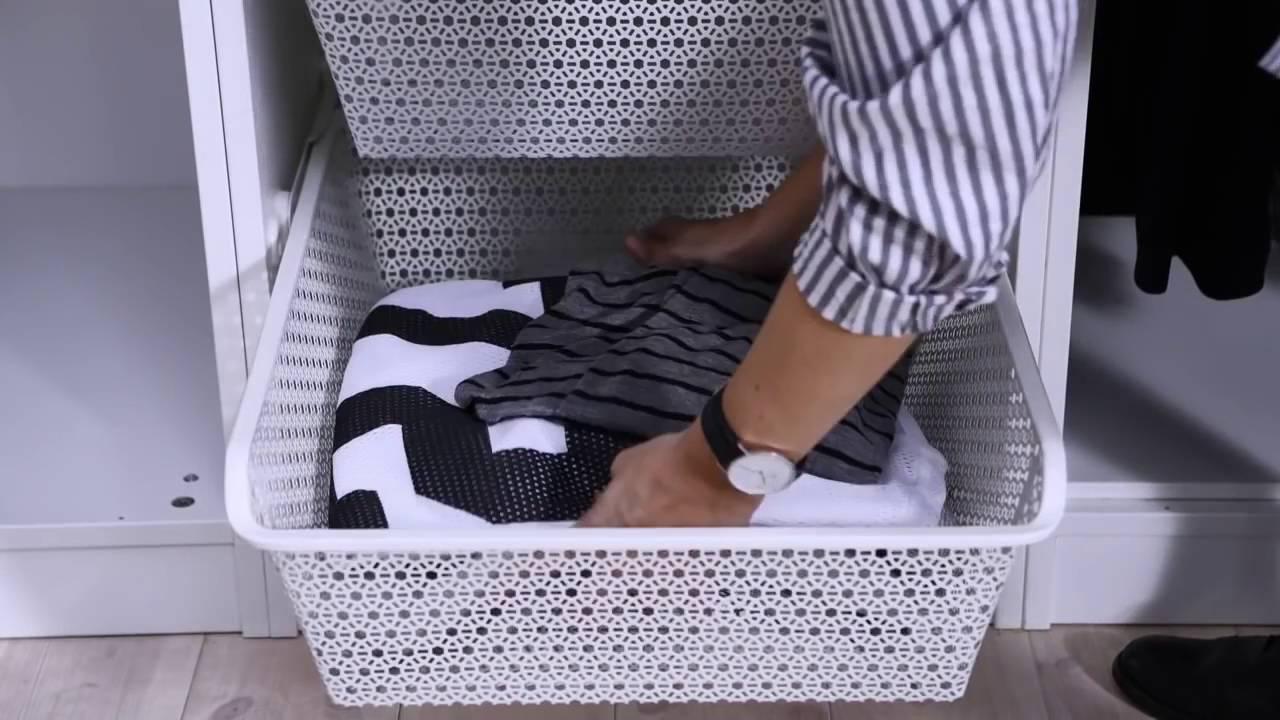 Ikea Ideas How To Organise Your Wardrobe Youtube