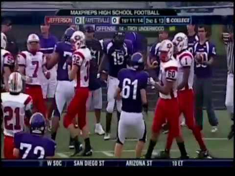 Jays vs. Fayetteville, Arkansas September 2009 National TV Broadcast