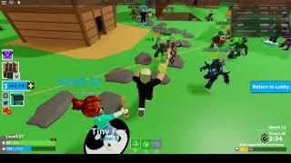 Детские игры Roblox Битва Монстров покупка нового оружия