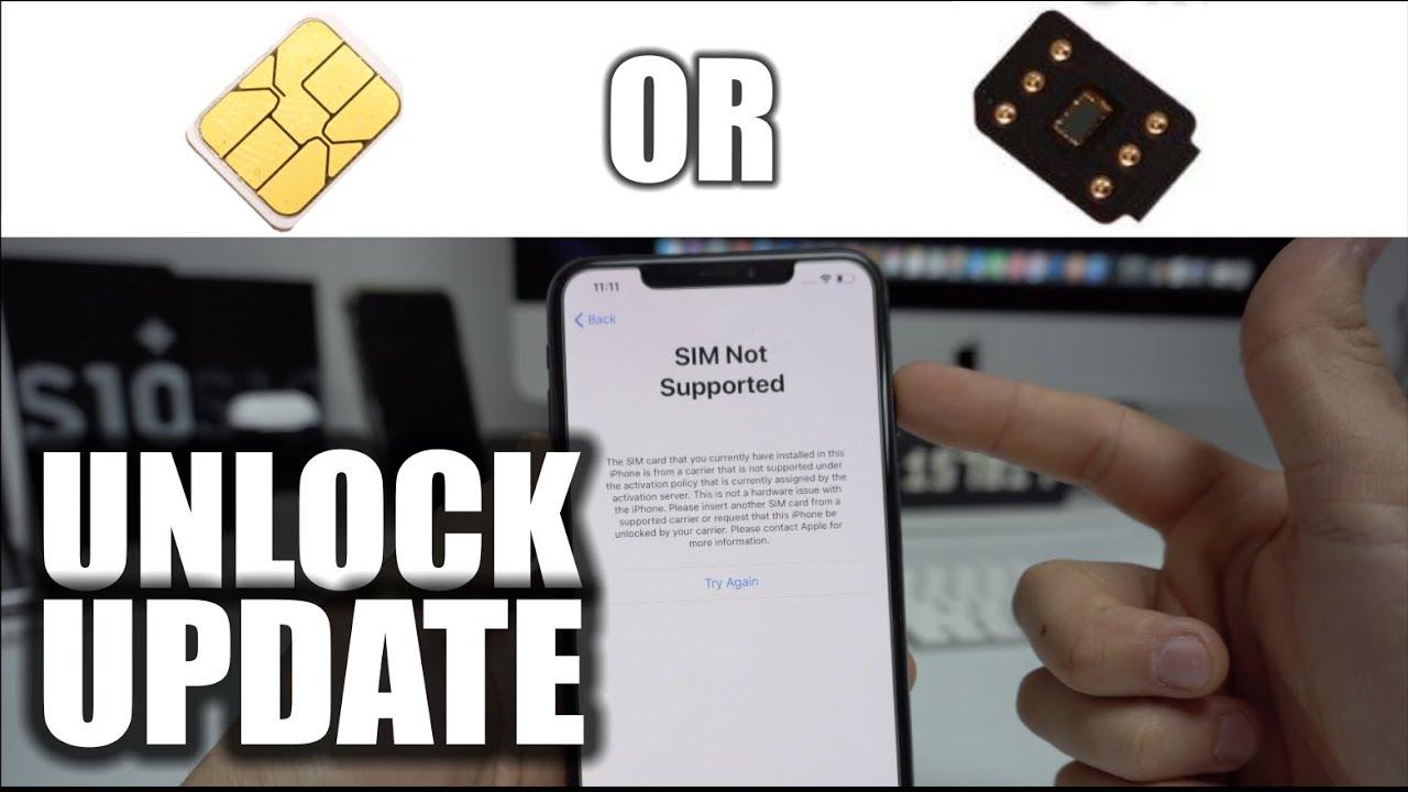 iPhone Unlock Sim Update - April 2019