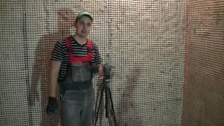 Самый лучший метод выставления маяков, струнная штукатурка. Нижний Новгород.