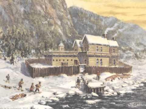 Le territoire de la NouvelleFrance vers 1645
