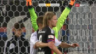 Highlights: FC Basel vs. FC Lugano (4:1) - 20.08.2016