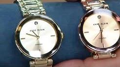 Anne Klein Diamond Accent Dial Bracelet Watch on QVC