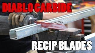 Diablo Carbide Recip Metal-Cutting Blades