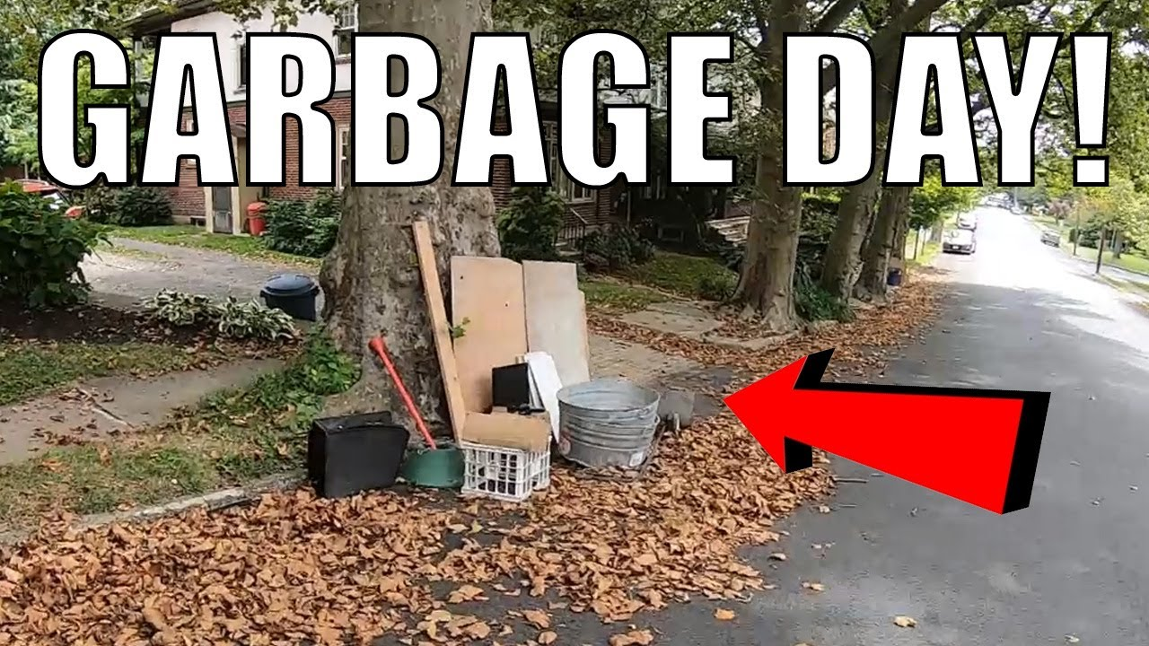 Look What I Found in The Trash! - Garbage Picking Ep. 340