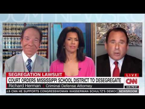 RICHARD HERMAN CNN LIVE, 5.22 MISSISSIPPI STILL SEGREGATED SAYS FED JUDGE