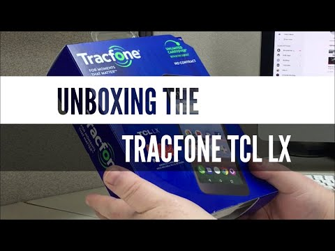 Unboxing the Tracfone TCL LX