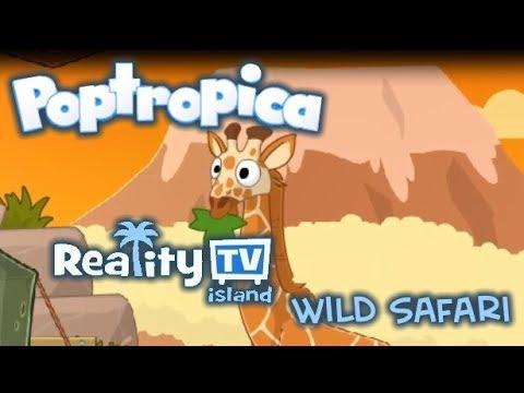 Poptropica | NEW ISLAND 2019 | Reality TV: WILD SAFARI!!!!!