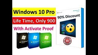 Windows 10 Original Key Only for Rs 900 |With Activate Proof In Hindi