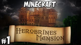 Herobrine's Mansion Part 1 - Undercroft Questing