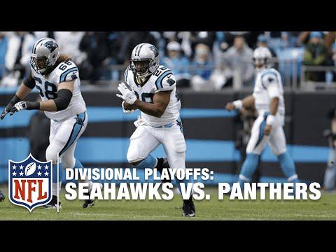 Jonathan Stewart's HUGE Run & Nice TD Kickstarts the Game!  Seahawks vs. Panthers  NFL