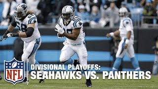 Jonathan Stewart's HUGE Run & Nice TD Kickstarts the Game! | Seahawks vs. Panthers | NFL