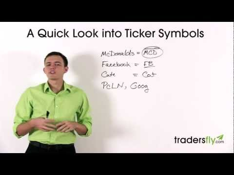 Stock Basics: What is a Ticker Symbol Definition and Meaning