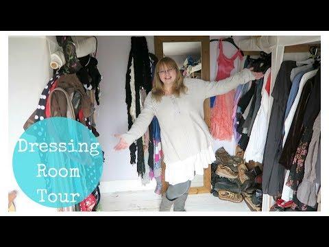 Dressing room / wardrobe / closet tour