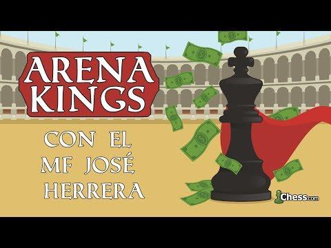 El Maestro Fide José Herrera arrasa en el Arena Kings  Torneo de Ajedrez para Streamers