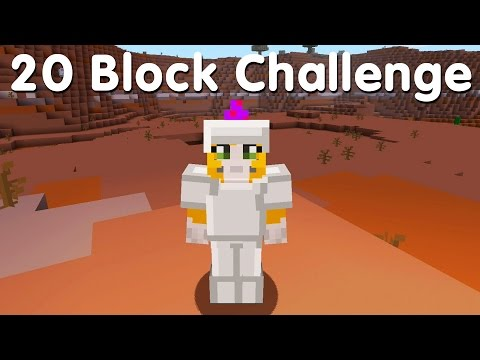 Minecraft PS4 - 20 Block Challenge - On A Rail (8)