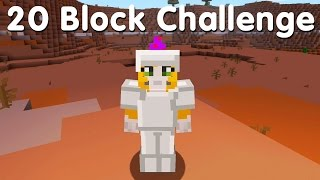 Minecraft PS4 - 20 Block Challenge - On A Rail (8)