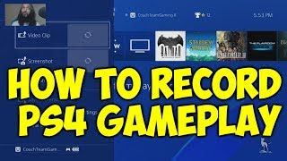 How To Record PS4 Gameplay (No Capture Card)