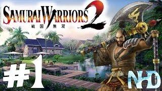 Let's Play Samurai Warriors 2 Xtreme Legends Katsuie Shibata Ch1 Battle of Okehazama