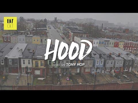 (free) 90s Old School Boom Bap type beat x hip hop instrumental | 'Hood' prod. by TONY HOP