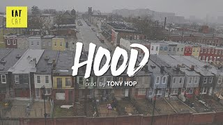 (free) 90s Old School Boom Bap type beat x hip hop instrumental | 'Hood' prod. by TONY HOP