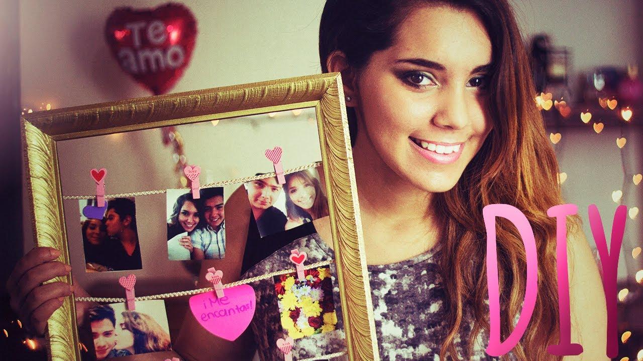 DIY Regalo para San Valentín (Marco con fotos) ♥ Jimena Aguilar ...