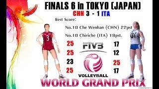 [Finals 6] China vs Italia - Volleyball Women