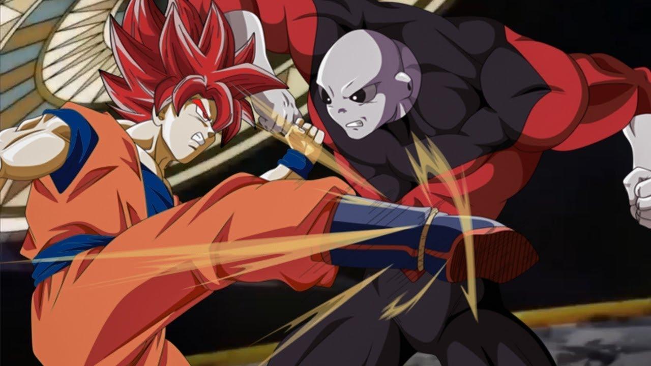 7 viên ngọc rồng siêu cấp tập 109 - Goku vs Jiren