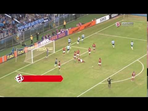 Melhores Momentos – Gols de Grêmio 1 x 0 Flamengo – Campeonato Brasileiro 22 05 16