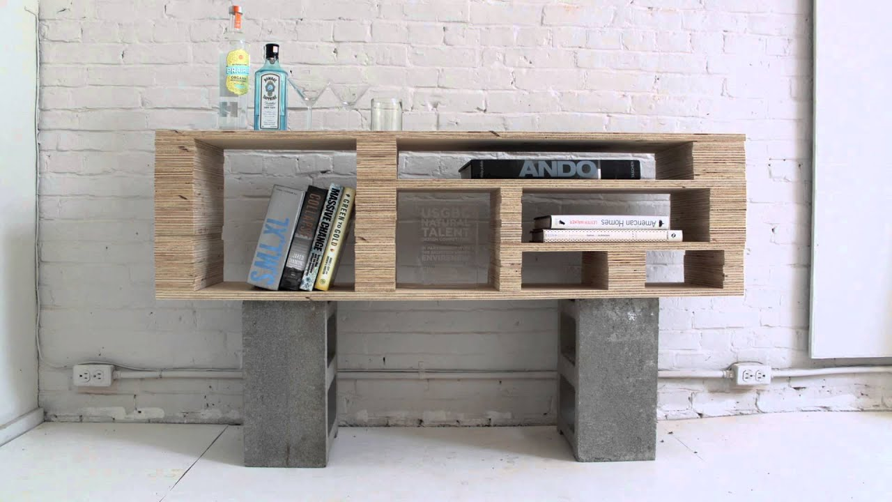 HomeMade Modern, Episode 2 -- DIY Plywood Media Console ...