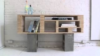 Homemade Modern, Episode 2 -- Diy Plywood Media Console