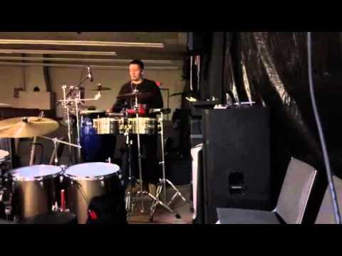 Gospel drummer (percussionist) Luis Rivera