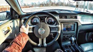 2009 Ford Mustang 4.0 AT Mustang V6 - POV Driving / Вождение от первого лица